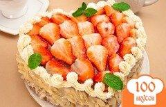 """Фото рецепта: «Торт """"На день влюбленных""""»"""