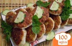 Фото рецепта: «Куриные котлеты с овсянкой»