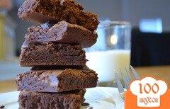 Фото рецепта: «Шоколадные пирожные»