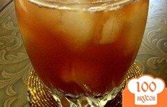 Фото рецепта: «Зеленый чай с персиком»