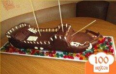 """Фото рецепта: «Торт """"Корабль""""»"""