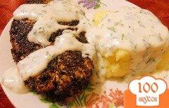 Фото рецепта: «Семга в горчично - соевом маринаде»