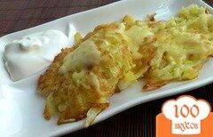 Фото рецепта: «Драники с сыром»