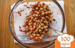 Фото рецепта: «Нутовый салат с овощами»