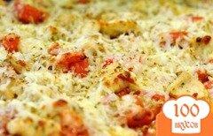 Фото рецепта: «Куриная пицца c бальзамическим уксусом»