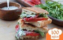 Фото рецепта: «Сэндвичи с болгарским перцем»