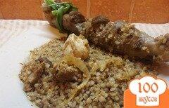 Фото рецепта: «Плов из гречи и баранины»