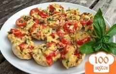 Фото рецепта: «Тарталетки с помидором»