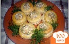 Фото рецепта: «Волованы с грибной начинкой»