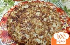 Фото рецепта: «Насыпной пирог с тыквой и яблоками»