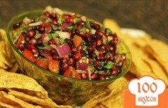 Фото рецепта: «Гранатовая сальса»