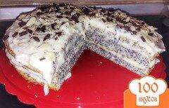 Фото рецепта: «Торт Маковый»