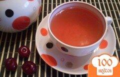 Фото рецепта: «Чай с вишней»