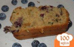 Фото рецепта: «Кабачковый хлеб с черникой»