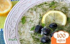Фото рецепта: «Греческий суп с рисом»