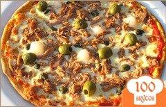 Фото рецепта: «Пицца с тунцом»