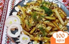 Фото рецепта: «Одесский жареный картофель»