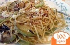 Фото рецепта: «Паста с жареными кабачками»