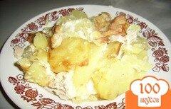 Фото рецепта: «Запеченная куриная грудка с сыром»