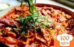 Фото рецепта: «Паста с курицей и томатами»