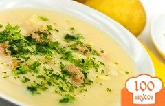 Фото рецепта: «Суп-пюре из опят»
