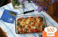 Фото рецепта: «Гратин из тортеллини и брокколи»