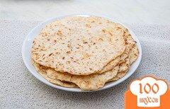 Фото рецепта: «Быстрые сырные лепешки с ветчиной»