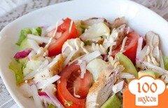 Фото рецепта: «Калифорнийский куриный салат»