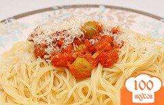 Фото рецепта: «Спагетти путанеска»