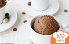 Фото рецепта: «Кофейно-шоколадное мороженое»
