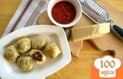 Фото рецепта: «Мясные шарики в тесте»