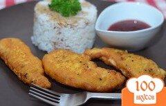 Фото рецепта: «Куриное филе в кляре»