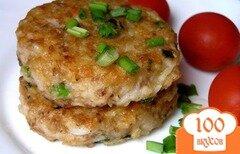 Фото рецепта: «Рисово-гречневые котлеты»