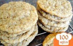 Фото рецепта: «Кокосово-овсяное печенье»