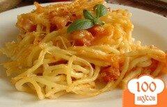 Фото рецепта: «Спагетти, запеченные с ветчиной и томатом»