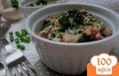 Фото рецепта: «Зеленый горошек с ветчиной и грибами»