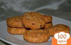 Фото рецепта: «Сырное печенье с беконом»