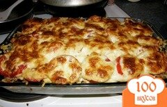 Фото рецепта: «Запеканка из картофеля и мясного фарша»