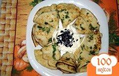 Фото рецепта: «Картофельные тонкие блинчики»