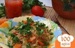 Фото рецепта: «Капуста с рисом по-гречески»