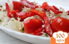 Фото рецепта: «Витаминный салат из капусты»