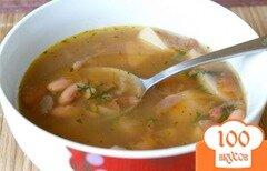 Фото рецепта: «Суп с фасолью в мультиварке»