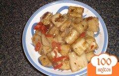 Фото рецепта: «Рисовая лапша в устричном соусе»
