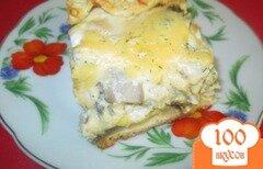 Фото рецепта: «Пирог с курицей и грибами»