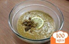 Фото рецепта: «Суп-пюре из чечевицы зеленой»