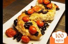 Фото рецепта: «Куриные грудки по-средиземноморски»
