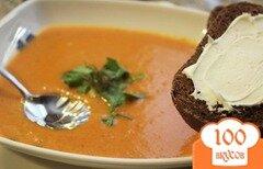 Фото рецепта: «Морковный суп с острым чеддером»
