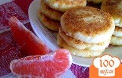 Фото рецепта: «Сырники цитрусовые»