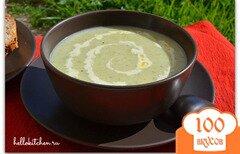 Фото рецепта: «Суп-пюре из лука-порея»