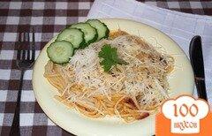 Фото рецепта: «Паста в томатном соусе»